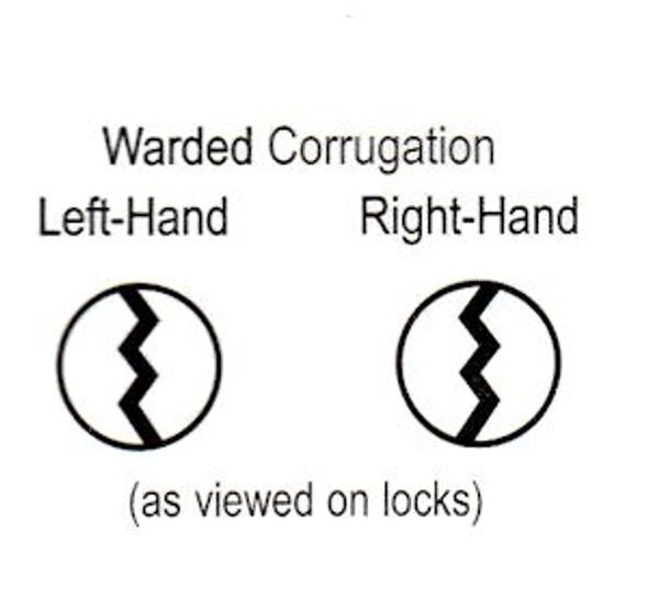 Master Lock K22L Key Blank, for  Warded 22 Series