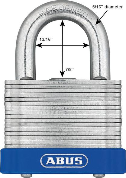 Abus 41/45 KA EE0022 Laminated Steel Padlock, Keyed Alike EE0022