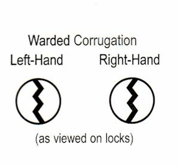 Master Lock K500L Key Blank, Warded Style