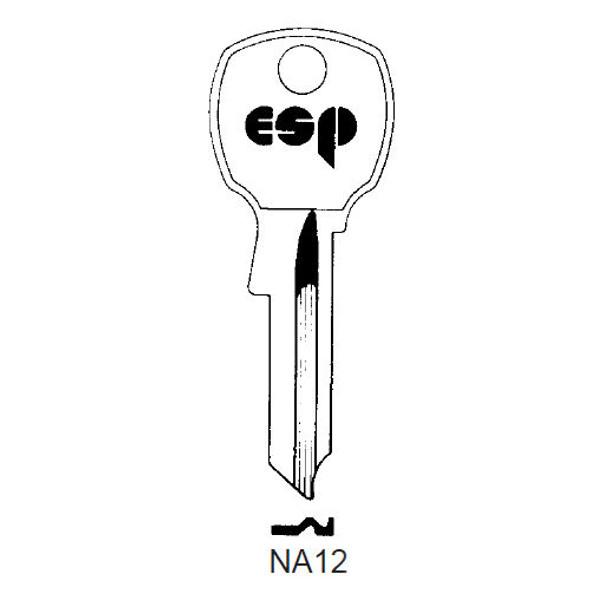 ESP NA12 Key Blank for National