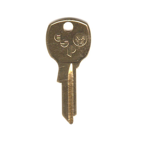 ESP NA14 Key Blank for National 1069L, D4291