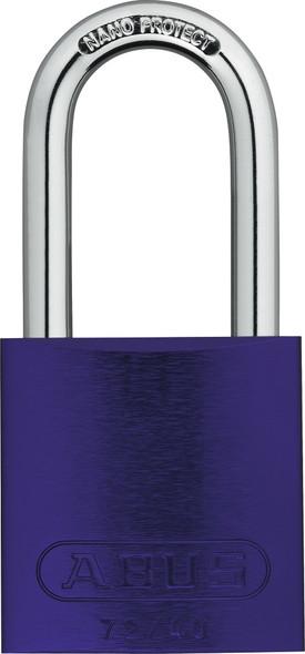 Abus 72HB/40-40 Purple Padlock, Keyed Different