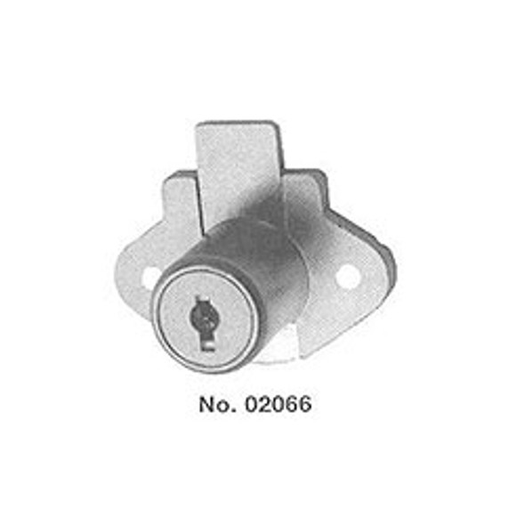 """CCL 02066 3/4"""" US4 KD (00166) Cabinet Lock, Keyed Different"""