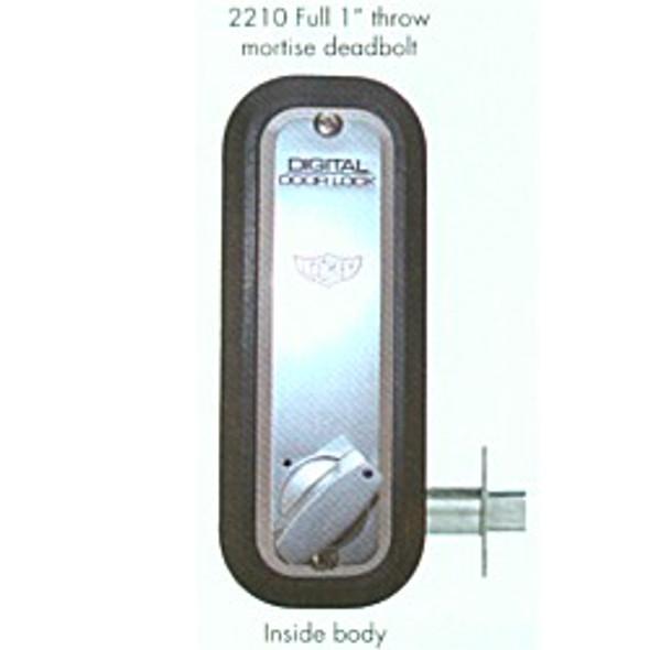 Combination Lock Deadbolt 2210 SC