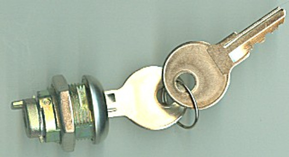 Toolbox Lock Cylinder, 15621 for Recessed Handles, KA CH545