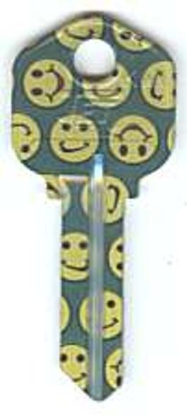Key blank, Groovy KW1 Smiley
