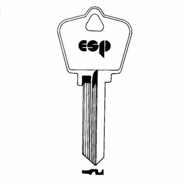 Key Blank, ESP AR4 Arrow 6 Pin