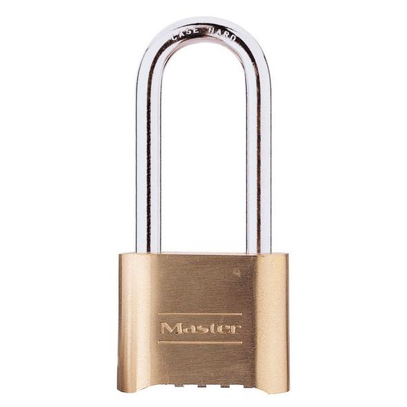 Master Lock 175LH Padlock, Brass Body Combination
