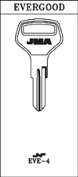 JMA EVE-4 Key Blank for Evergood