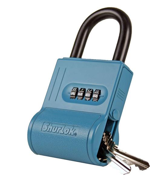 Shurlok, Security Lock Box (Blue), SL-100