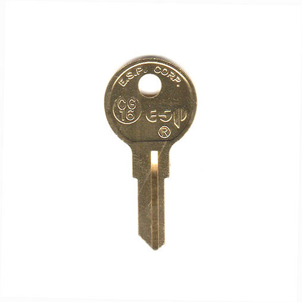 ESP CG16 Key Blank for Chicago 1041T/K5