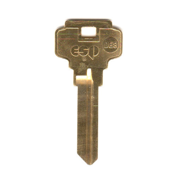 Key blank, ESP DE8 Dexter 6 Pin
