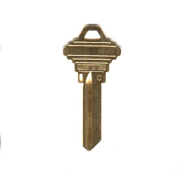 ESP SC4 Key Blank, 6 Pin Brass