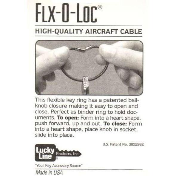 FLEX-O-LOC CABLE 711-38 Bulk Teal