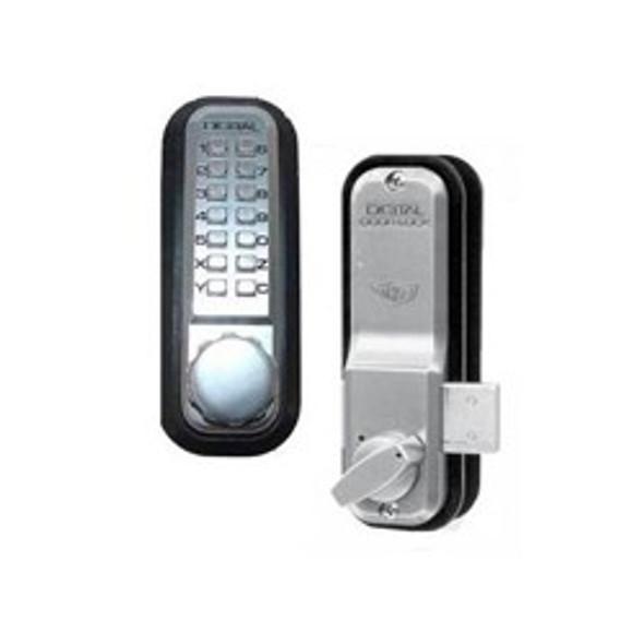 Combination Lock Deadbolt, Lockey 2200 SC Surface Mount