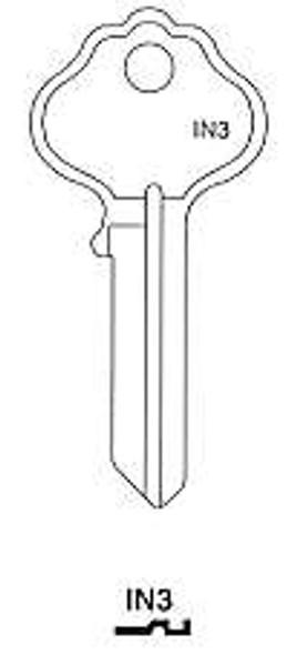 Key blank, Independent Lock X1054K