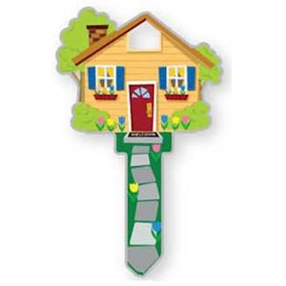 Key Shapes, Lucky Line Key Blank Home B105S