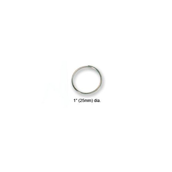 "HPC GAK-6 Key Ring, 1"" Light Wire 1000/pack"