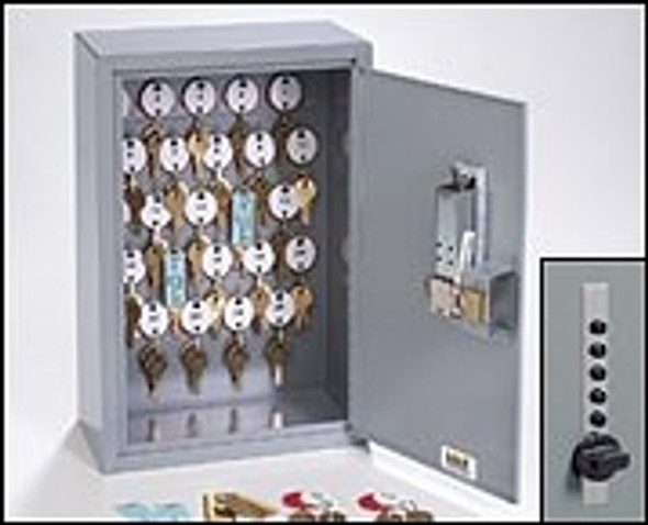 Dupli-Key Cabinet, MMF 2016025S01 25 Capacity with Simplex Pushbutton Lock