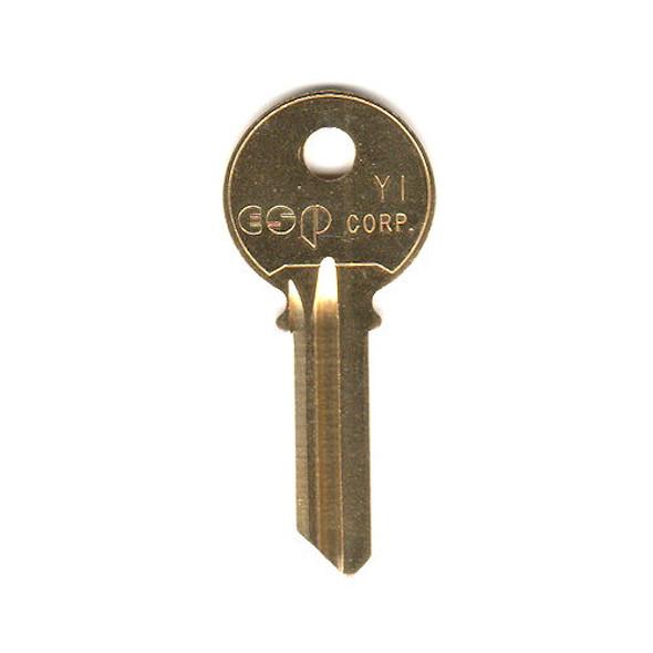 ESP Y1 Key Blank for YALE 8 5 PIN