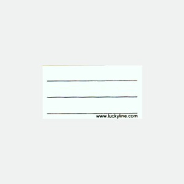 Paper insert for 605/200 Tags (Standard Insert) 100 Pack