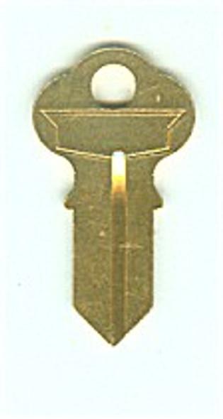 Key blank, JET CG2 for Chicago K4L, 1041GA