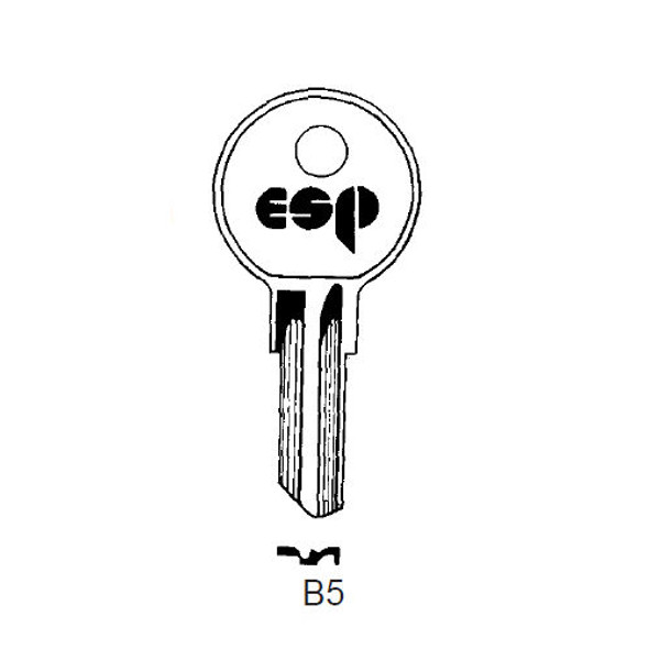 ESP B5 Key Blank fits Older Briggs & Stratton/Strattec