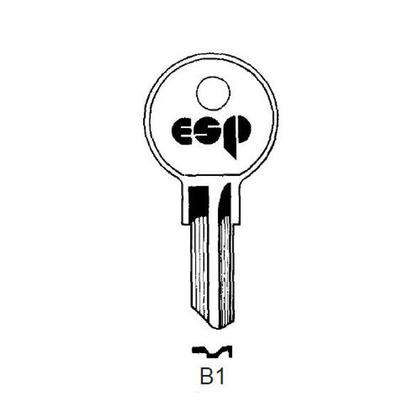 ESP B1 Key Blank, Briggs/American Motors