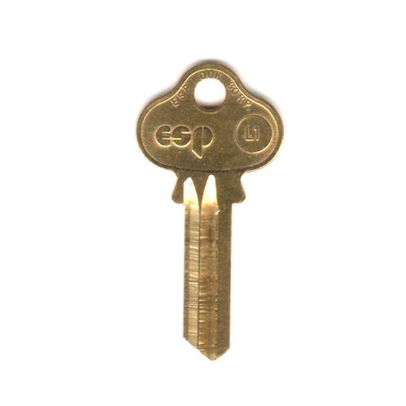 ESP L1 Key Blank for Lockwood 5 pin