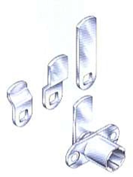 Compx Timberline C165CB/CB-165 Cam Lock Kit Less Key Plug