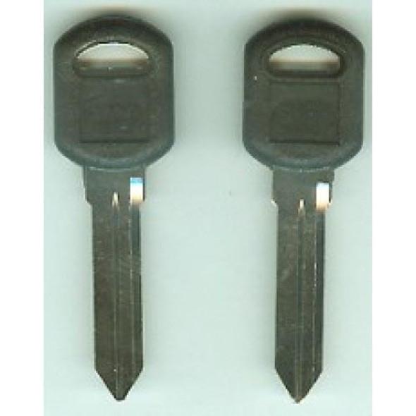 Key Blank, JMA GM36P for GM B92P (RH)