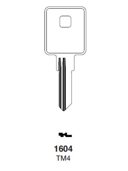 Ilco 1604 Key Blank fits Trimark TM4
