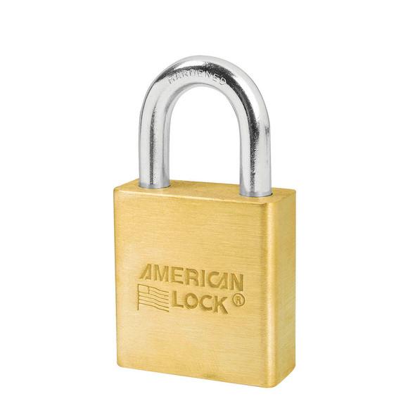 American Lock A5560 Brass Body Padlock, Keyed Different