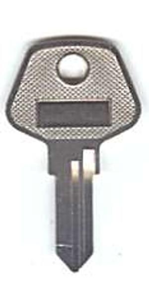 Key blank, for KCS Slide Guard (V)