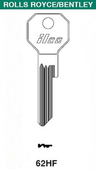 Ilco 62HF Key Blank, Rolls Royce