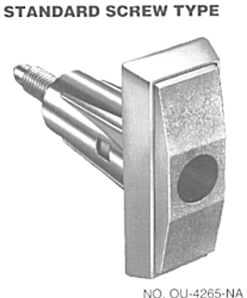 Compx Chicago OU-4265-NA T-Handle Lock, Screw Type Less Cylinder
