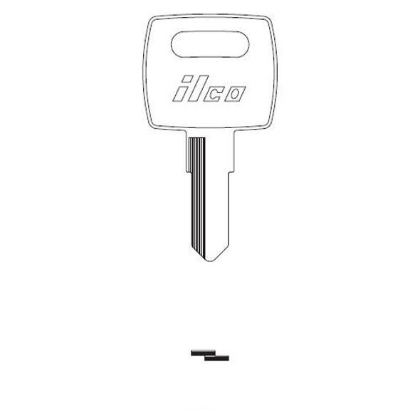 Key blank, Ilco F1098JD John Deere