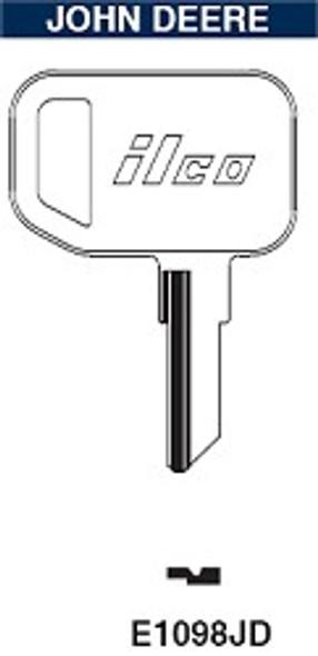 Ilco E1098JD Key Blank for John Deere Lawn