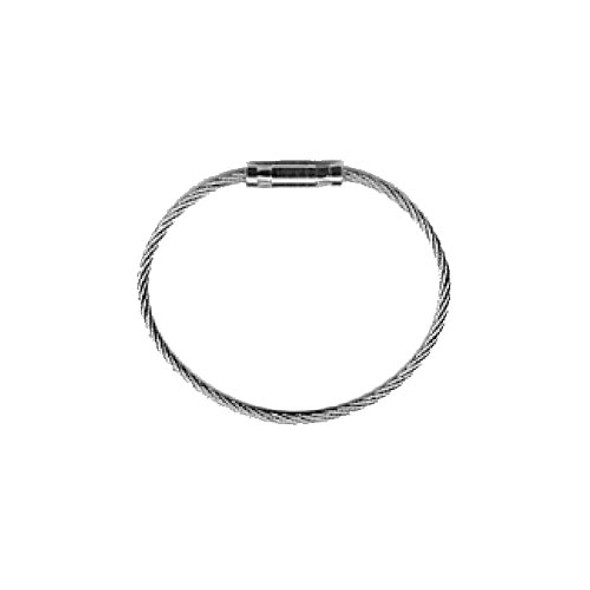 Lucky Line 0841 Twisty, 5in Bulk Stainless Steel (uncoated)