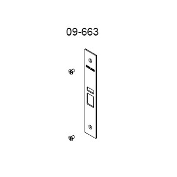 Schlage 09-663 613 Armor Front for L9050/70/80 613