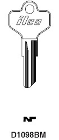 Ilco D1098BM Key Blank for Utility keys