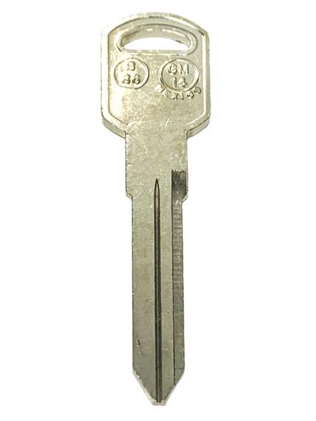 JMA GM-14 Key Blank for GM B86/P1106