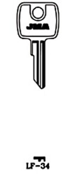 JMA LF-34 Key Blank for Lowe & Fletcher