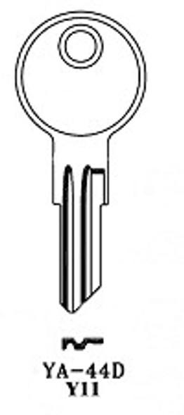 JMA YA-44DE-250 Key Blank for Yale Y11 (250 pack)