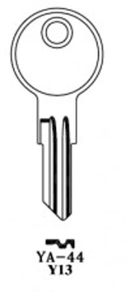 Key blank, JMA YA44E-250 for Yale Y13 (250 pack)