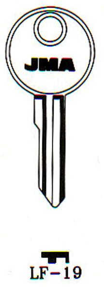 JMA LF-19 Key Blank for Lowe & Fletcher