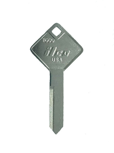 Ilco 1660 Key Blank for Ford Truck Utility Lock