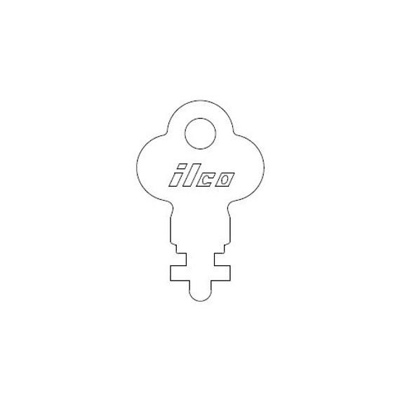 Ilco 1416 Precut Key for Utility Latches