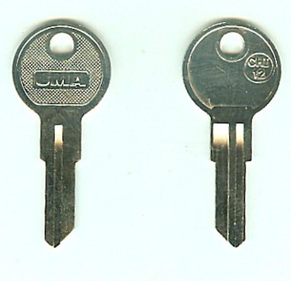 JMA CHI-12 Key Blank for Chicago 1041TR