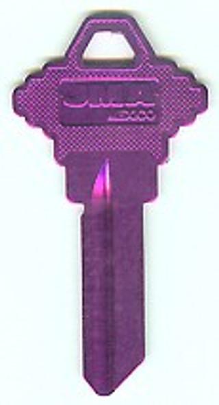JMA SLG-3AL.LI Key Blank,  Aluminum Lilac SC1